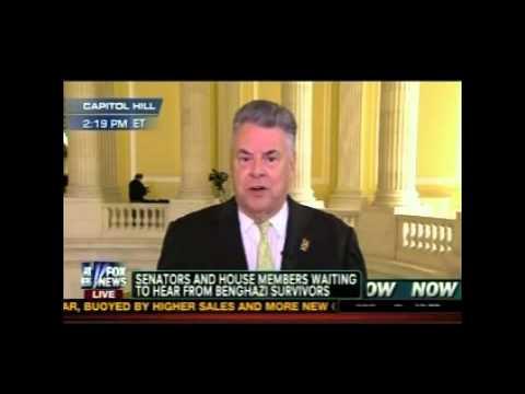 Rep. Pete King Discusses Latest on Benghazi Survivors