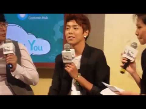 Lee Hyun Woo cute speaks english, sing and eat