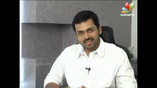 Karthi's Take On Alex Pandian