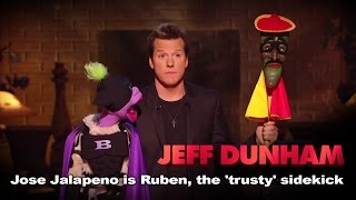 """José Jalapeño is Ruben, the 'trusty' sidekick"" 
