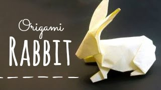 Origami tavşan yapımı - kağıttan tavşan yapılışı