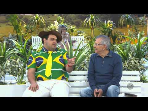 A Praça É Nossa (13/06/14) - Matheus Ceará fala da rotina na sua casa