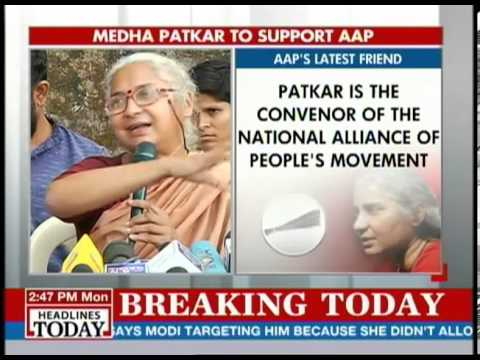 We will be involved at every level of the party: Medha Patkar