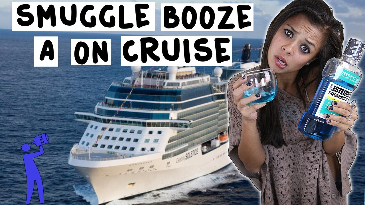 How To Smuggle Alcohol On A Cruise Ship  Tipsy Bartender