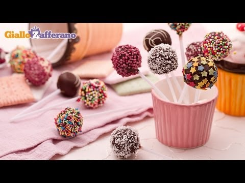Cake chocolate pops - quick Christmas recipe