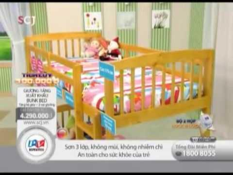 Giường Tầng, Giường Xuất Khẩu , Giường Ngủ, Giường Trẻ Em - Song Pháp Việt