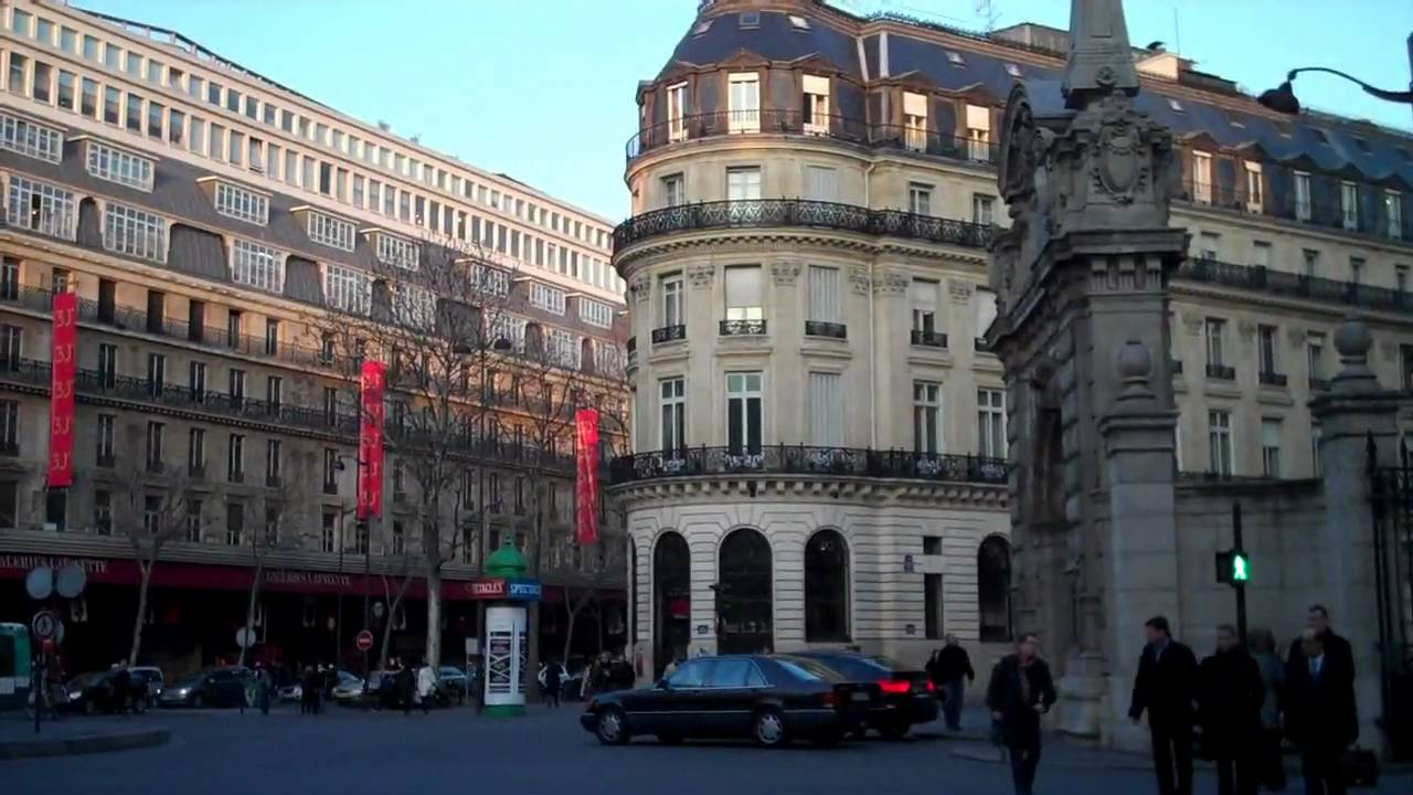 Paris le quartier des grands magasins youtube - Quartier des antiquaires paris ...