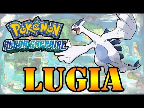 Caçando Lendários [Pokémon Alpha Sapphire] - Lugia