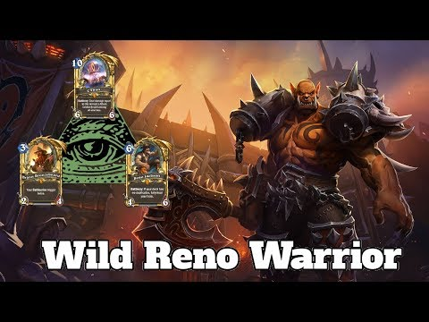 Gameplay Wild Reno Warrior Kobolds And Catacombs | Hearthstone Guide How To Play