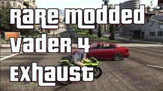 "GTA 5 Online ""Modded Shitzu Vader"" Motorcycle With 4"