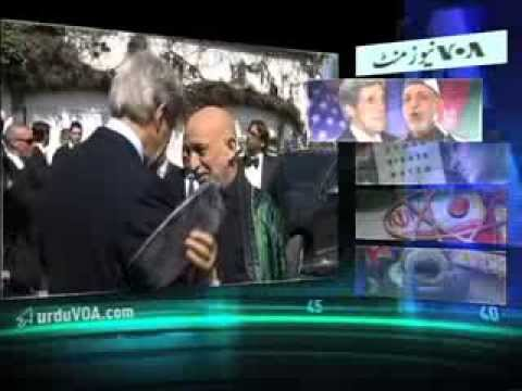 NEWSMINUTE - Kerry For Talks In Afghanistan - 10.11.13