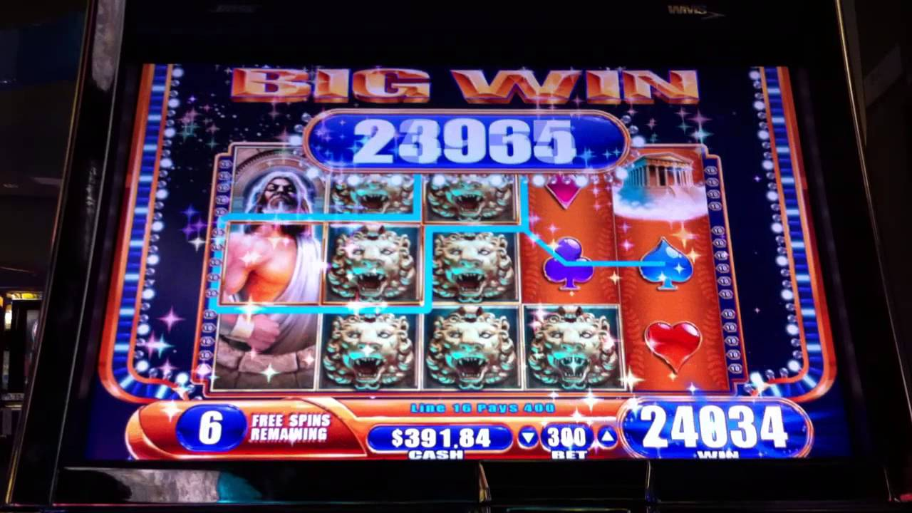 Big slot machine wins hot roll poker