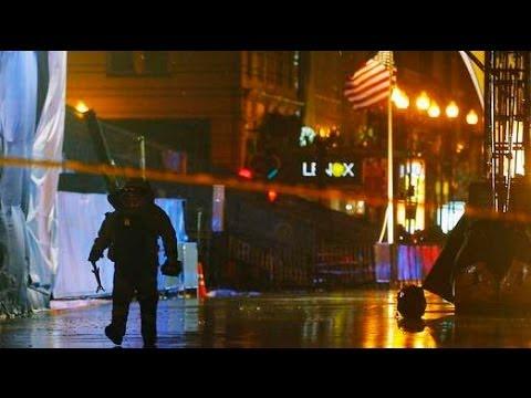 WATCH VIDEO: Boston Marathon Finish Line Evacuated, Man Taken into Custody After Backpacks Found