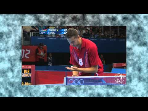OG'12: Vladimir Samsonov vs. William Henzel [HD]