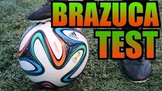 Adidas Brazuca Test Official World Cup 2014 Match Ball