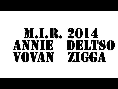 M.I.R. HIP-HOP 2x2 Vovan Annie vs Deltso ZiGGa 2014 | Running Mouse dance video