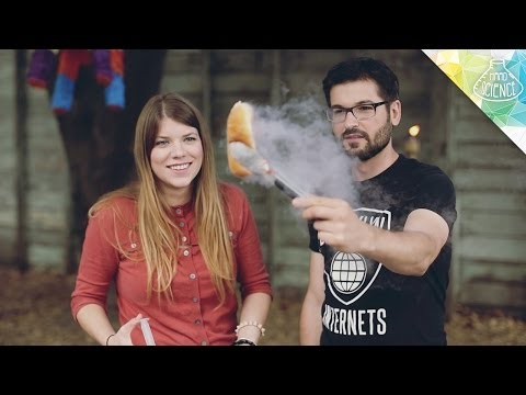 Liquid Nitrogen BBQ - Hard Science