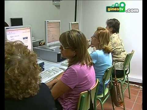 Curso de iniciación a Internet para los mayores de Gines