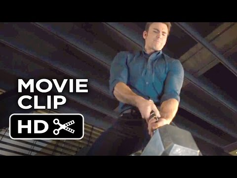 Avengers: Age of Ultron Movie CLIP - Hammer Lift Competition (2015) - Chris Evans Movie HD