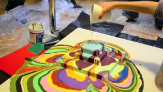 Colourful Students Art Project