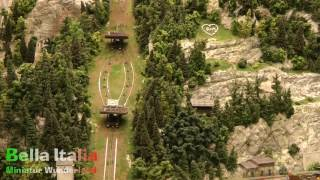 Laaser Marmorbahn und Standseilbahn im MIWULA Abschnitt Italien