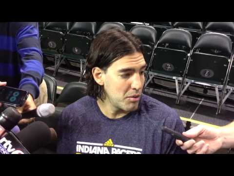 Pacers acquisition Luis Scola: 'I'll embrace my role.'