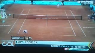 Los peores enojos del tenis