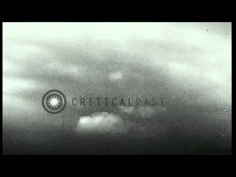 Allied war planes attack German aircraft and Nazi transport in Germany. HD Stock Footage