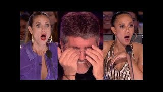 The Best Top 6 AMAZING Auditions - America's Got Talent 2017 - MUST WATCH!
