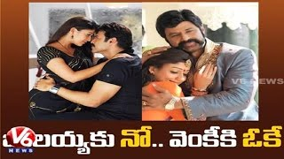 Nayantara says NO to Balakrishna and says YES to Venkatesh Movie