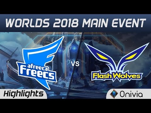 AFS vs FW Highlights Worlds 2018 Main Event Afreeca Freecs vs Flash Wolves by Onivia