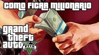 Como Ganhar Dinheiro Rapido GTA V Online TUTORIAL