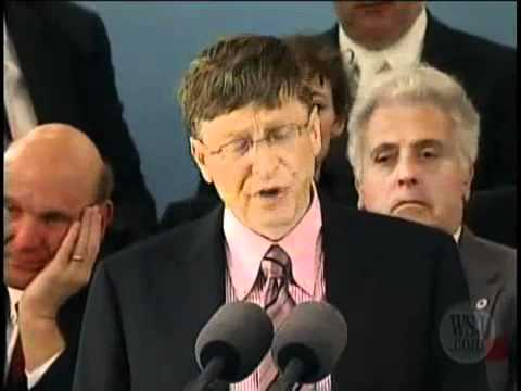 Bill Gates Speech at Harvard - 5 of 5