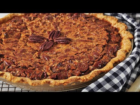 Pecan Pie Recipe Demonstration - Joyofbaking.com