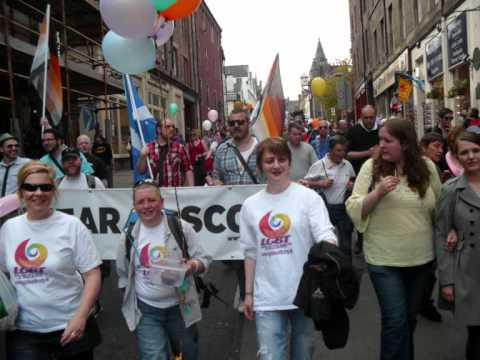 BearScots News Pride Scotia Edinburgh 2011