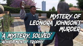 GTA 5 The Mystery Of Leonora Johnson's Murder ¦ Mission