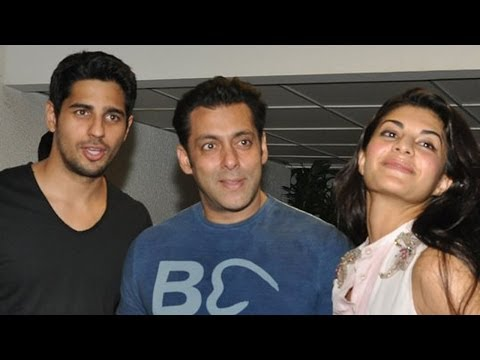 EXCLUSIVE: Salman Khan Surprises Sidharth Malhotra