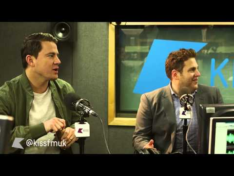 Channing Tatum and Jonah Hill being hilarious on Kiss Breakfast - Kiss FM (UK)