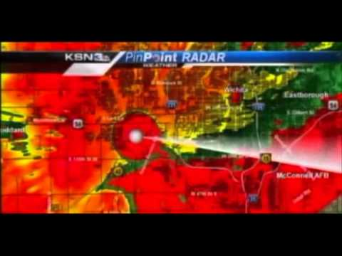 RAW: TV Staff Take Cover From Tornado