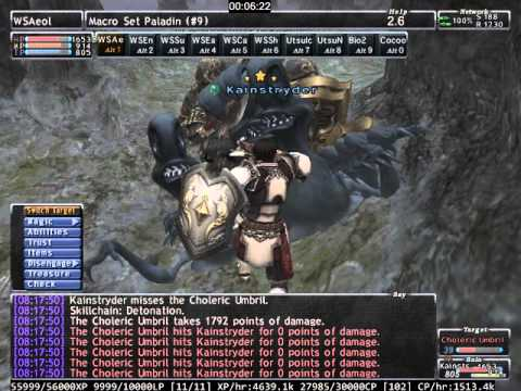 Final Fantasy XI PLD Solo EXP/CP 100 JP/Hour+ @ Sih Gates