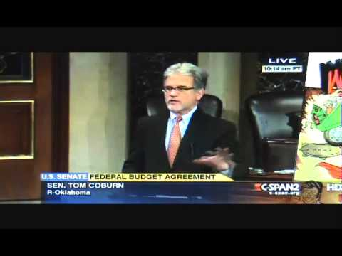 Sen Tom Coburn BLASTS 2014 Budget Deal