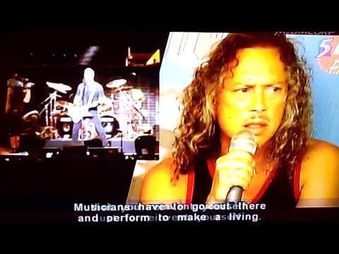 Metallica Singapore News