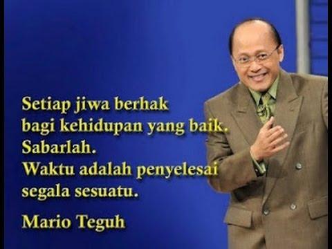 Motivasi Kata - Kata Mutiara Mario Teguh