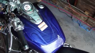 2005 yamaha v star 650 custom with baron custom accessories rh youtube com