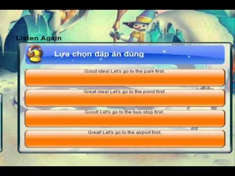 IOE Tiếng Anh trên mạng  - Lớp 4 - Vòng 21