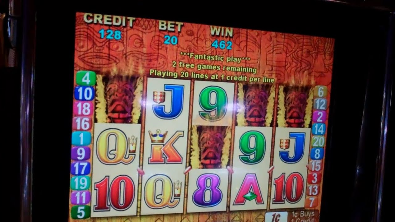 Tiki Torch slot - spil Aristocrat Tiki Torch Pokie