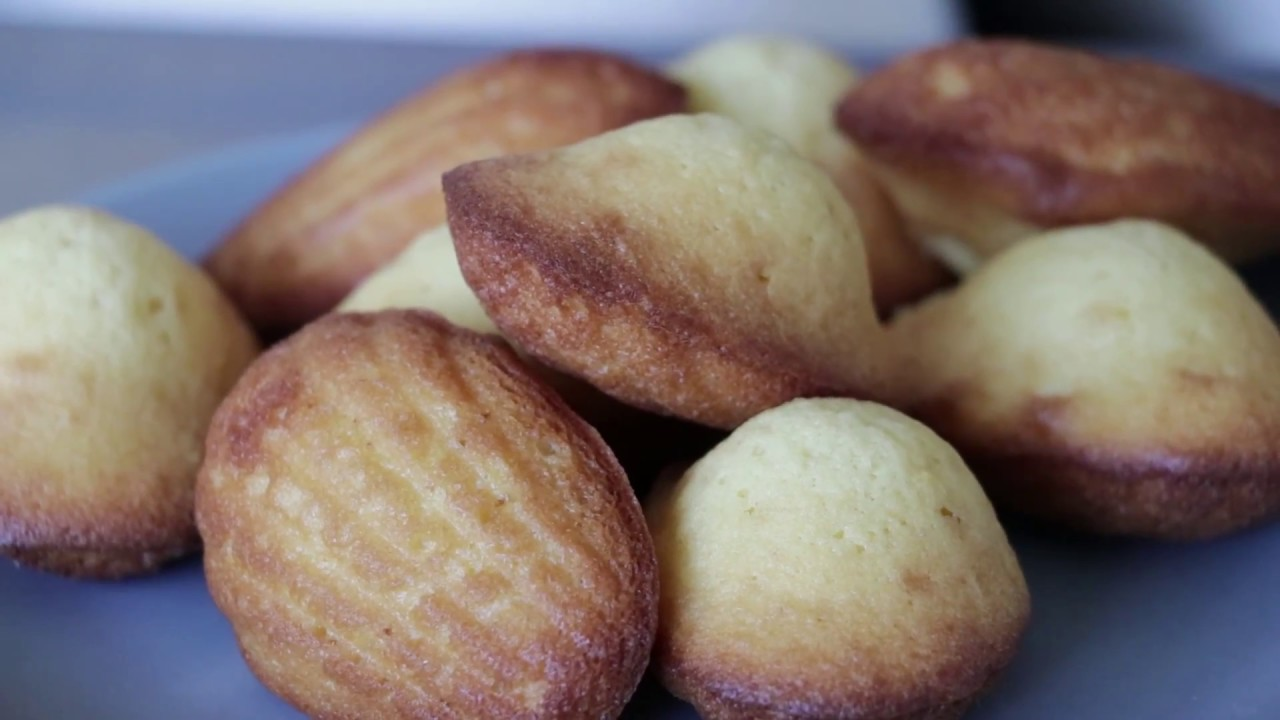 The perfect French Madeleines