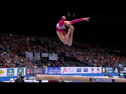 Gymnastics  World Championships 2013 BB EF