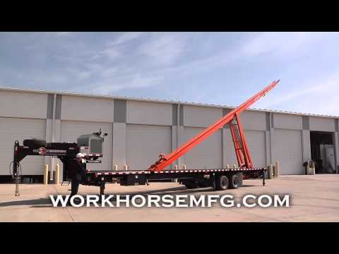 Mobile Pipe Lay Down Trailer by Workhorse Mfg.