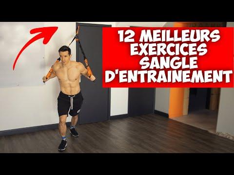 12 meilleurs exercices avec sangles d'entrainement ! (sport à la maison)